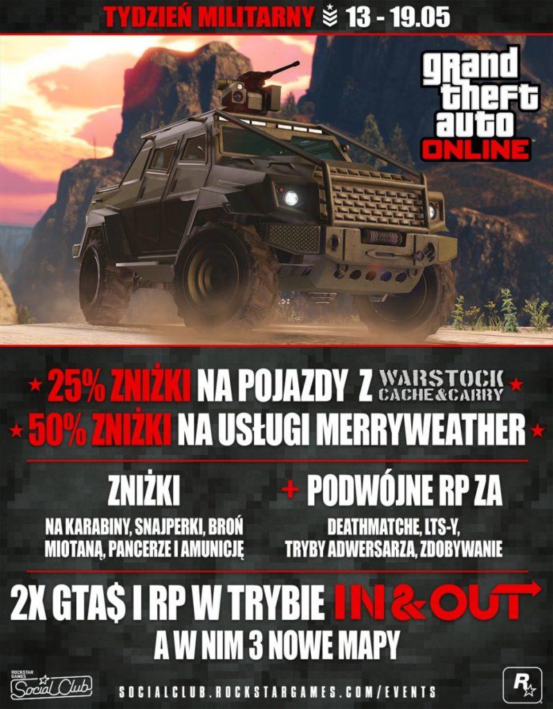 Militarny Tydzień GTA V