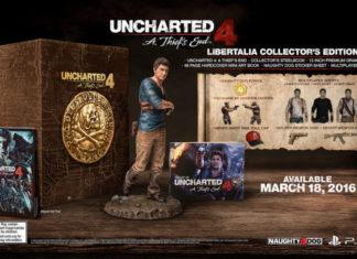 Uncharted 4 unboxing edycja kolekcjonerska