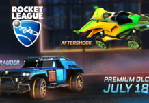 Rocket League DLC Aftershock Maruder