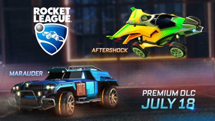 Rocket League DLC Aftershock Maruder