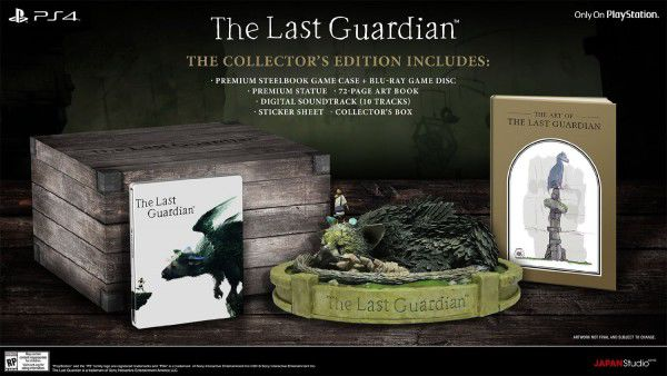 The Last Guardian Edycja Kolekcjonerska