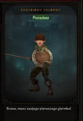 Zagubiony chłopiec - Lamb