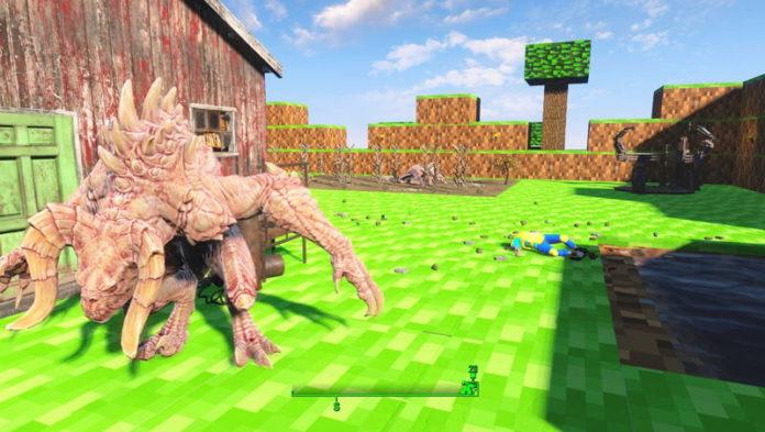 Fallout 4 Minecraft MOD