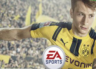 Okładka FIFA17 - marco Reus
