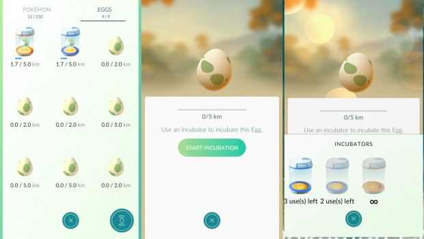 Pokemon Go Eggs Jajka