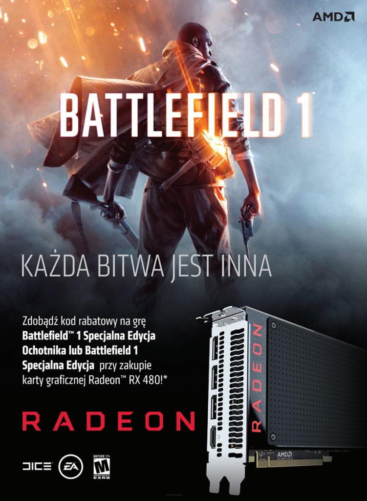 Battlefield 1 Radeon
