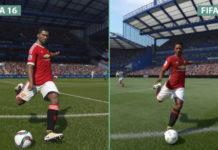 FIFA-17-vs-FIFA-16 porównanie grafiki