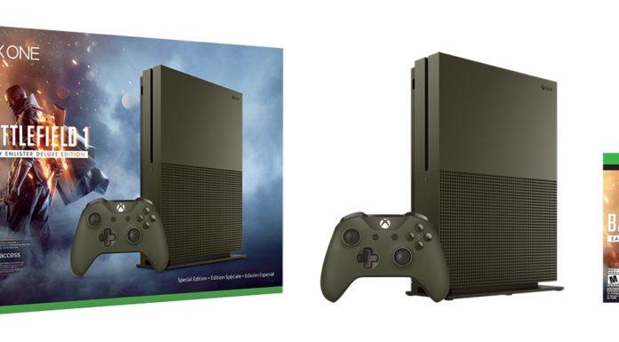 Zestaw Xbox One S z Battlefield 1