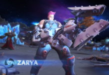 Zarya Heroes of the Storm
