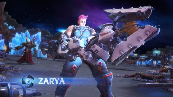 Zarya Heroes of the Storm