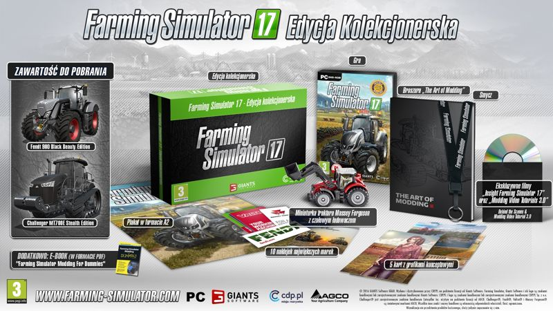 Farming Simulator 17 edycja kolekcjonerska