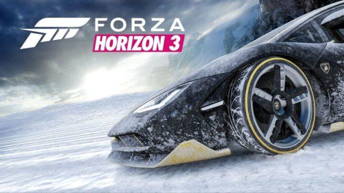 Forza Horizon 3 Blizzard Mountain