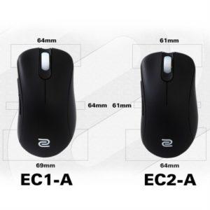 Najlepsza myszka do CS:GO ZOWIE EC1-A oraz EC2-A