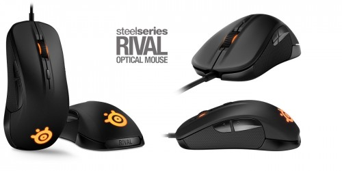 Myszki do CS:GO Steelseries Rival Optical Canvas