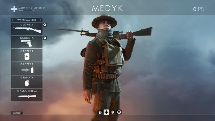 Battlefield 1 - Medyk