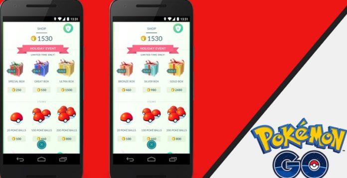 Pokemon GO - Świąteczne prezenty, eventy, paczki
