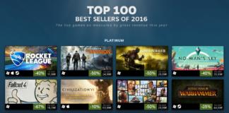 ranking gier steam 2016