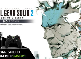 Metal Gear Solid 2: Sons of Liberty HD Edition w SHIELD TV