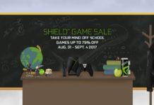 NVIDIA SHIELD Game Sale