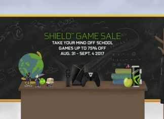 NVIDIA SHIELD Game Sale