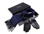 prezent pod choinkę - szal i rękawiczki